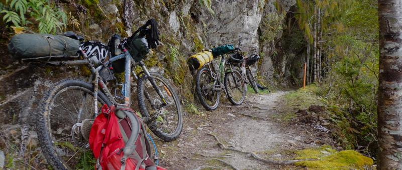 Mountain bikes and gear - Nathan W